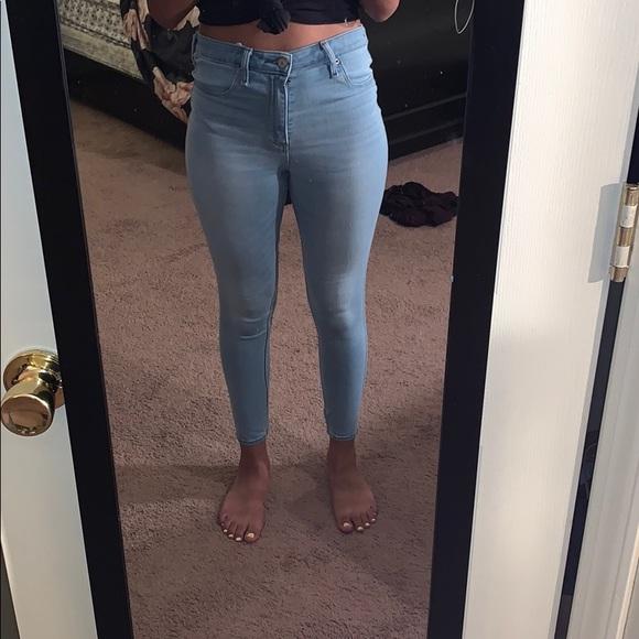 Abercrombie & Fitch Denim - Abercrombie & Fitch Simone High rise jean leggings